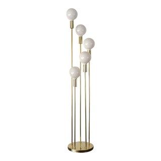 Mid-Century Modern Robert Sonneman Waterfall Floor Lamp For Sale