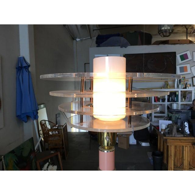 Art Deco Revival Memphis Style Floor Lamp, Circa 1980 For Sale - Image 9 of 10