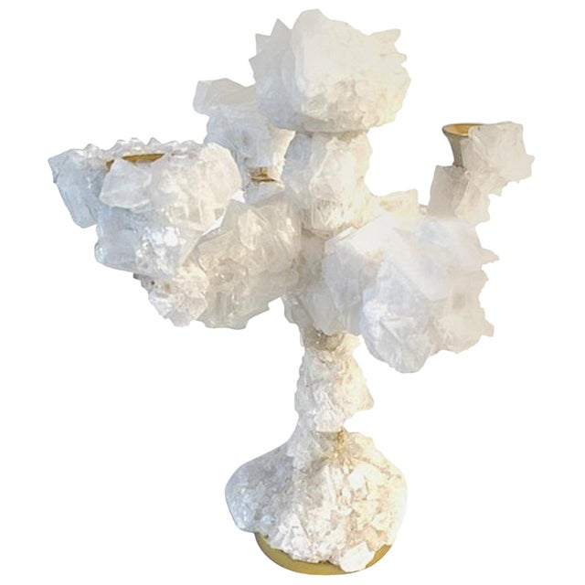 Crystals Overgrown Candelabra, Mark Sturkenboom For Sale
