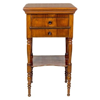 Dresser/Desk/Dressing Table Veneered with Mahogany, circa 1860 For Sale