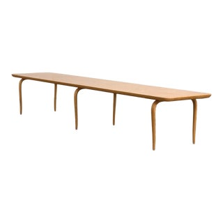 Bruno Mathsson Annika Birch Coffee Table For Sale