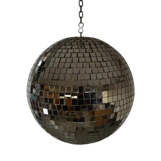 Vintage 1970s Mirrored Disco Ball