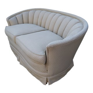 1960s Vintage Scallop Sofa For Sale