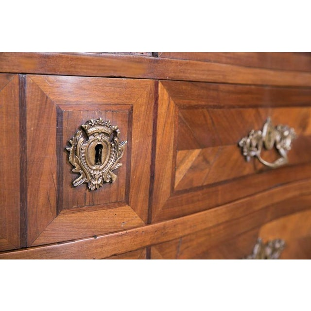 18th Century French Louis XVI Period Parquetry Commode For Sale In Birmingham - Image 6 of 11
