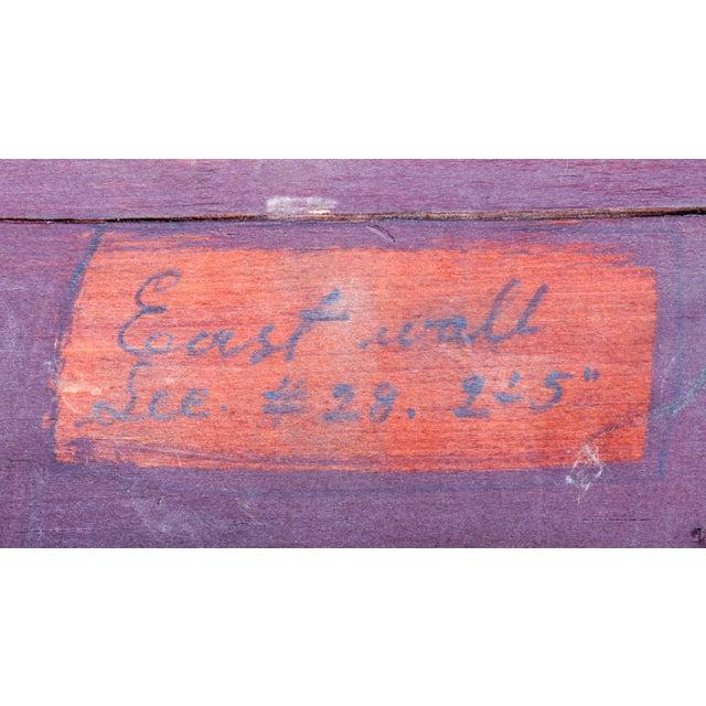 Brown C. 1880 Vanderbilt Mansion Original Hand-Carved Oak Lion Wall Panel For Sale - Image 8 of 11