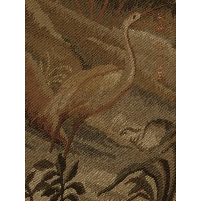 """Chineses Abusson Style Tapestry. 4'x 5'8"""" - Image 5 of 10"""