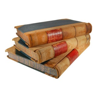 1950s English Ledgers - Set of 3 For Sale