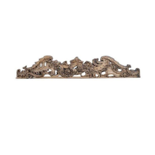 English Carved Wooden Architectural Fragment - Image 2 of 4