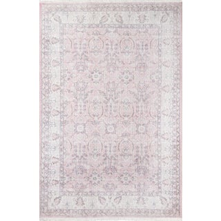 Momeni Helena Tanvi Pink 5' X 8' Area Rug For Sale