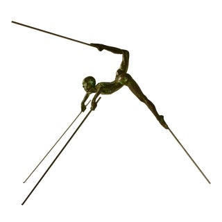 Nicolas Lavarenne Bronze Titled Petit Scorpion II 1996 For Sale