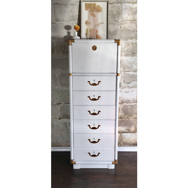 Drexel Accolade Campaign Lingerie Chest - Image 9 of 10