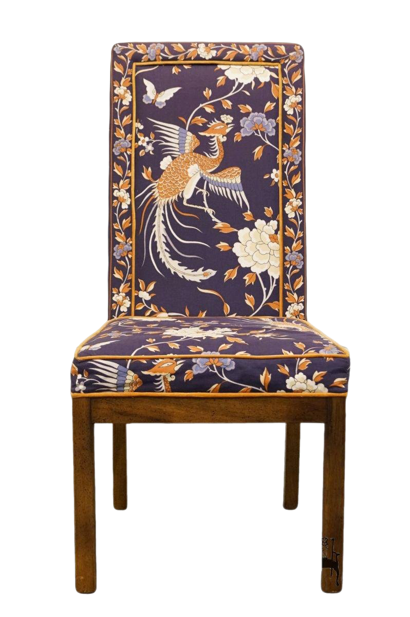 Late 20th Century Vintage Tai Ming Collection Heritage Asian Dining Chair