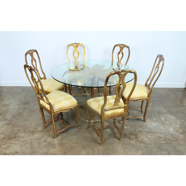 Arthur Court Gilded Lily Dining Set - Set of 7 - Image 4 of 10