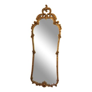 Early 20th Century French Giltwood Wall Mirror For Sale