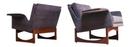 Image of Gray Lounge Chairs