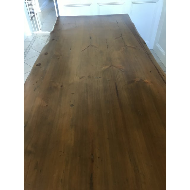 Cottage Ralph Lauren Danby Dining Room Table For Sale - Image 3 of 10