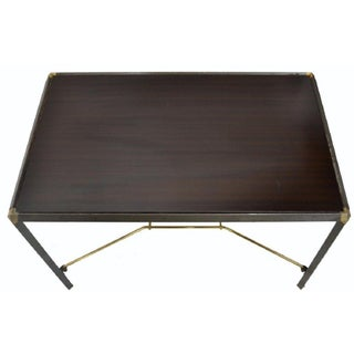 1950's Vintage Italian Wood and Steel Coffee Table Preview