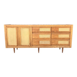 Oak 1970's Dresser For Sale