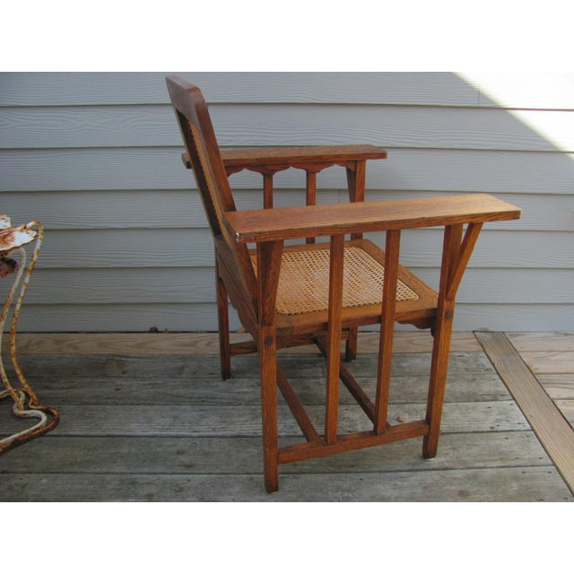Early 20th Century Early 20th Century Vintage David Walcott Kendall Craftsman Kendall Chair For Sale - Image 5 of 12