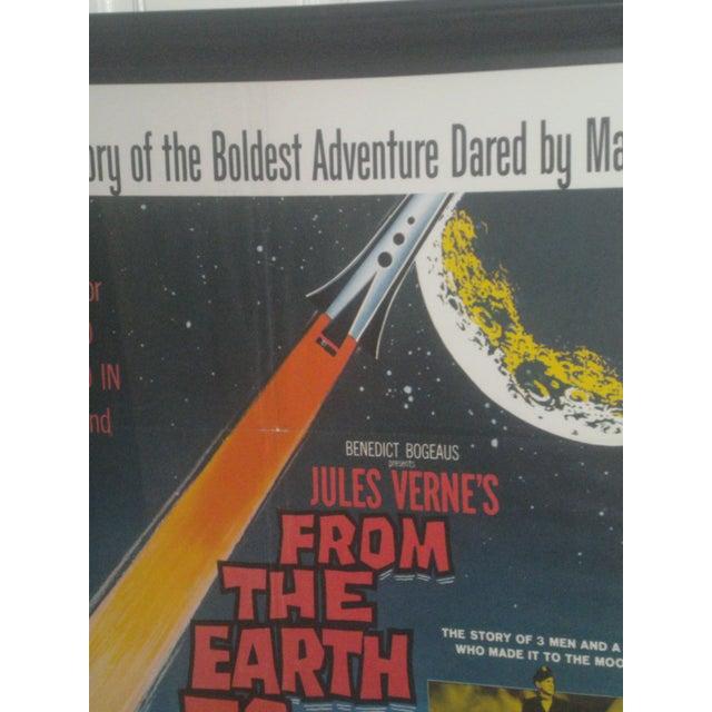 Original 1958 Sci-Fi Framed Movie Poster For Sale - Image 4 of 9