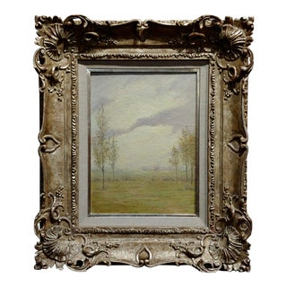 John Earhart - Tranquil Landscape - Beautiful Oil Painting 1908 For Sale