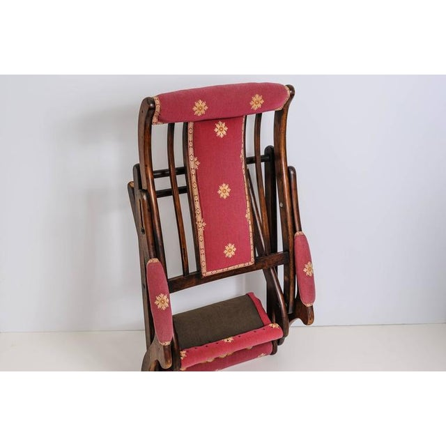 19th Century, French, Napoleonic Campaign Style Folding Chair - Image 7 of 9