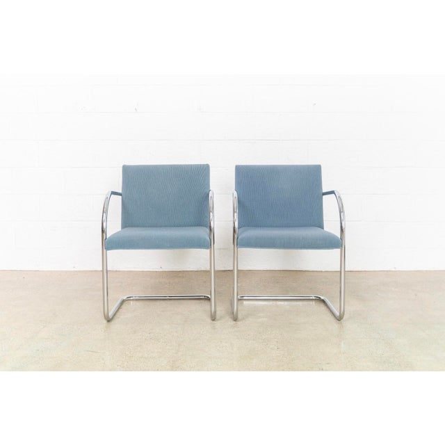 1990s Mies Van Der Rohe Brno Chairs For Sale - Image 5 of 11