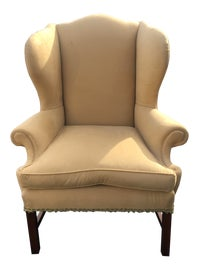 Image of Powder Room Wingback Chairs