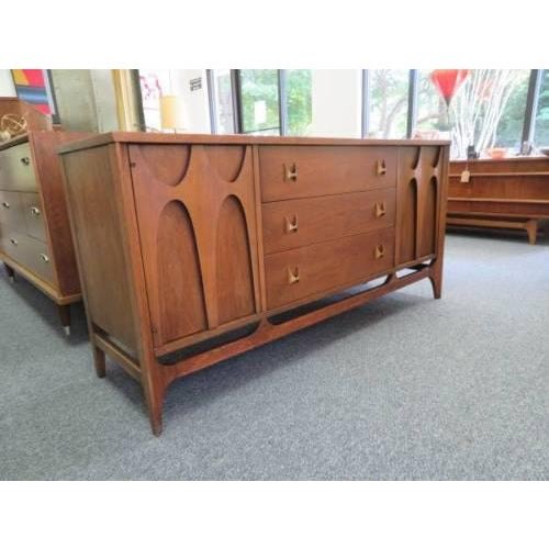 "Beautiful Rare Size Mid-Century Broyhill Brasilia Credenza / Sideboard / Cabinet / Lowboy Dresser. This one is 56"" long..."