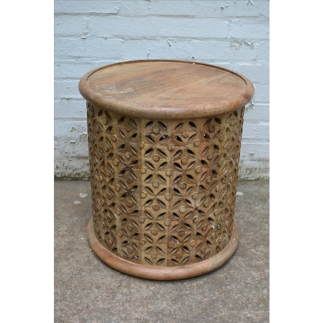 Round Side Table - Image 2 of 4