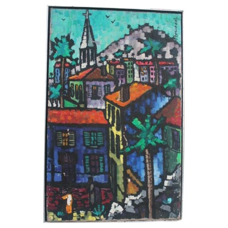 Cityscape Abstract Painting by Feomanol - Image 1 of 11