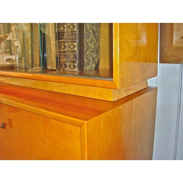 Swedish Flame Birch Cabinet - Image 3 of 7