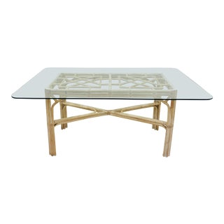Vintage Chinese Chippendale Table For Sale