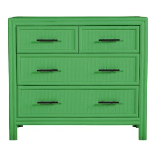 Bermuda Four-Drawer Chest - Bright Green For Sale