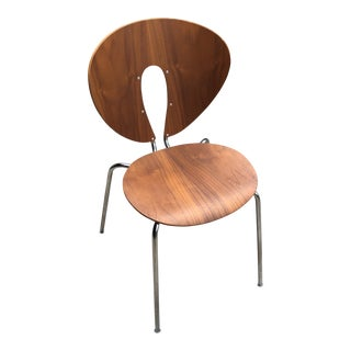 Jesus Gasca Stua Globus Walnut Veneer Chair