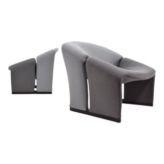 Pair of Pierre Paulin Model F580 Lounge Chairs by Artifort