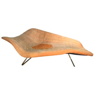 "Rare ""Soloform 5008"" Chaise Lounge by Hans Hartl for Eugen Schmidt For Sale"