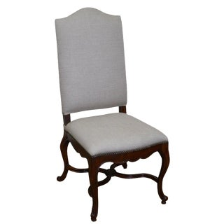 Jonathan Charles French Louis XV-Style High Back Side Chair