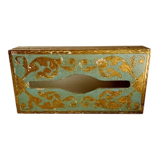 1950s Florentine Tissue Box For Sale