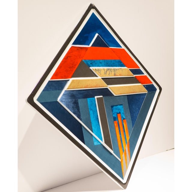 Abstract Rosenthal Jahresteller Plaque by Otto Herbert Hajek For Sale - Image 3 of 8