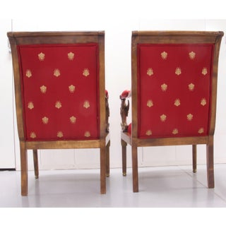 Vintage Mid Century Empire Style Chairs- A Pair Preview