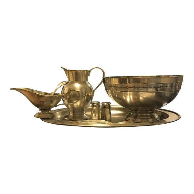 Traditional Silver Set - Set of 6 For Sale