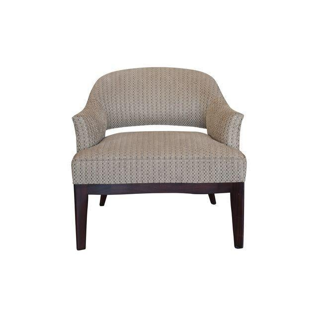 Hickory Chair Co. Continental Club Chair - Image 2 of 3