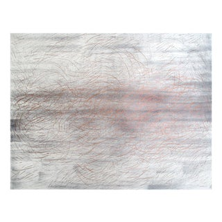 "Gudrun Mertes-Frady ""Copper Drawing"" on Paper For Sale"