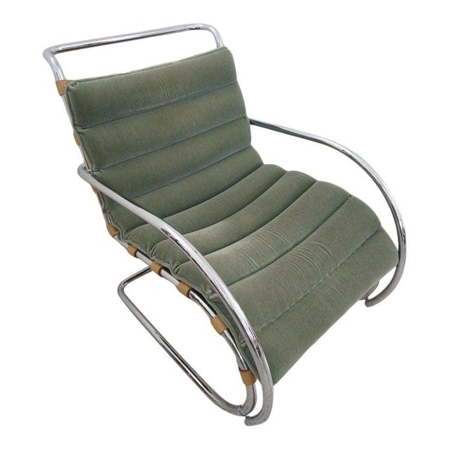 Vintage Art Deco Mies Van Der Rohe Lounge Chair by Gordon International For Sale - Image 13 of 13