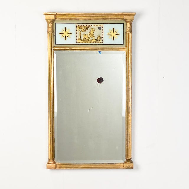 Early 19th Century English Regency Pier Mirror, Circa 1810 For Sale - Image 5 of 5