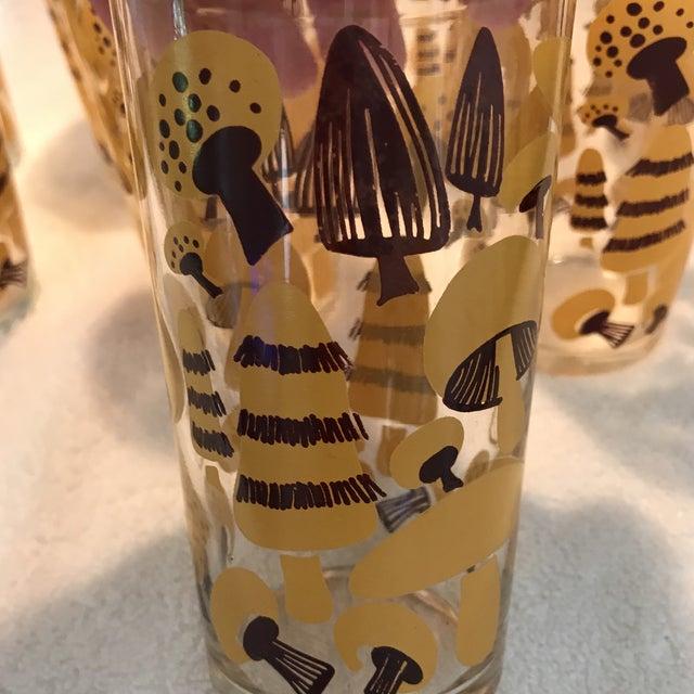 Mid-Century Modern Mushroom Glasses - Set of 8 - Image 6 of 10