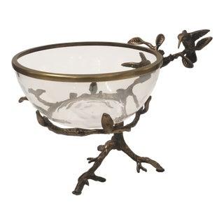 Contemporary Brass Decorative Bowl
