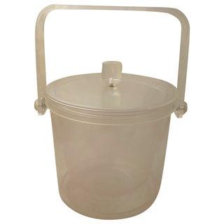 Vintage Retro Lucite Ice Bucket