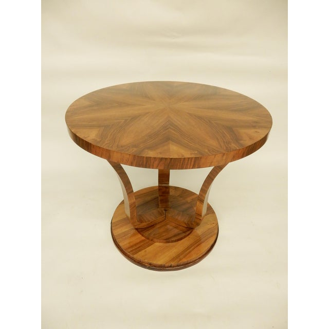 Art Deco Round Tulip Shaped Side Table For Sale In New Orleans - Image 6 of 6